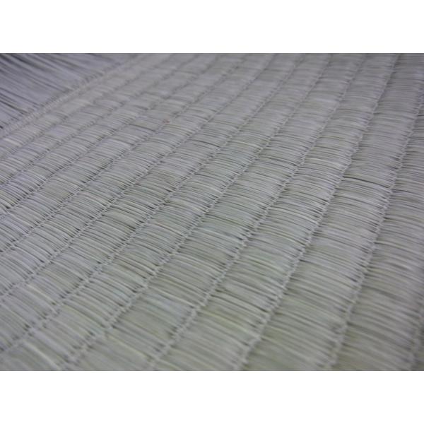 日本農林規格JAS3種特等認定品畳(縦糸:麻糸)縁付き表替え【半畳】|tatamiya3|04