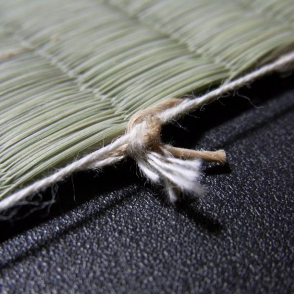 日本農林規格JAS3種特等認定品畳(縦糸:麻糸)縁付き表替え【半畳】|tatamiya3|05