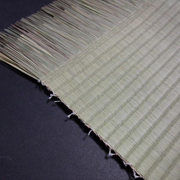 日本農林規格JAS3種1等認定品畳(縦糸:麻糸)縁付き表替え【半畳】|tatamiya3|03