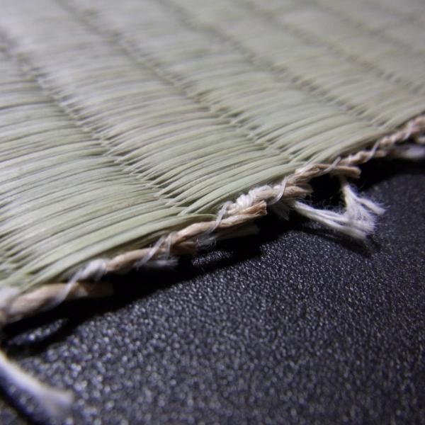 日本農林規格JAS3種1等認定品畳(縦糸:麻糸)縁付き表替え【半畳】|tatamiya3|05