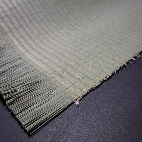 日本農林規格JAS3種2等認定品畳(縦糸:麻糸)縁付き表替え【半畳】|tatamiya3|03