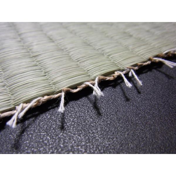 日本農林規格JAS3種2等認定品畳(縦糸:麻糸)縁付き表替え【半畳】|tatamiya3|05