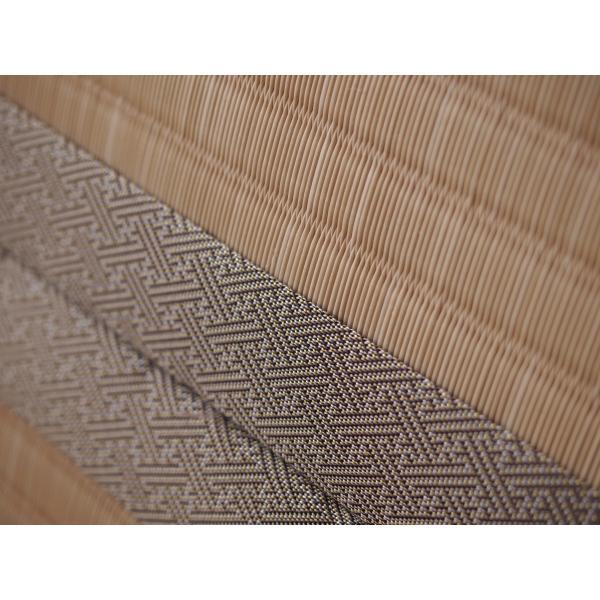 つくしが出たよ♪もう春だ♪ 「土筆色」 1畳もの表替え(縁付き)|tatamiya3|02