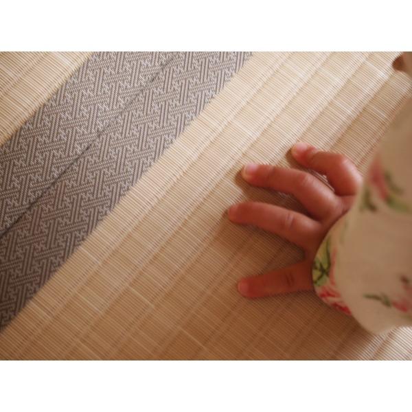 つくしが出たよ♪もう春だ♪ 「土筆色」 1畳もの表替え(縁付き)|tatamiya3|04