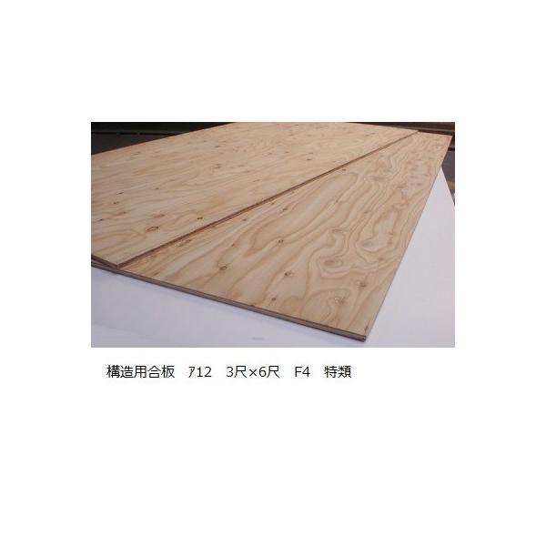 構造用合板 ア12mm 910mm×1820mm 【送料別途見積】