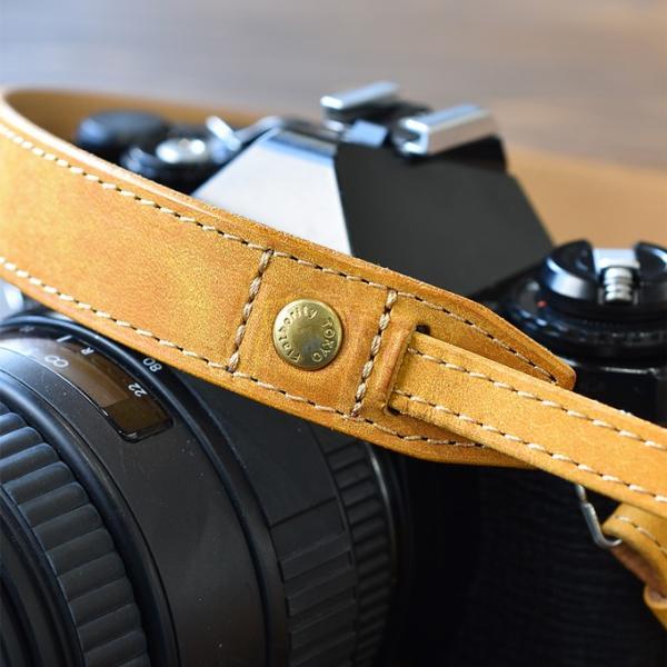 カメラストラップ ストラップ 一眼レフ 本革 レザー Flathority FP-508|tavarat|03