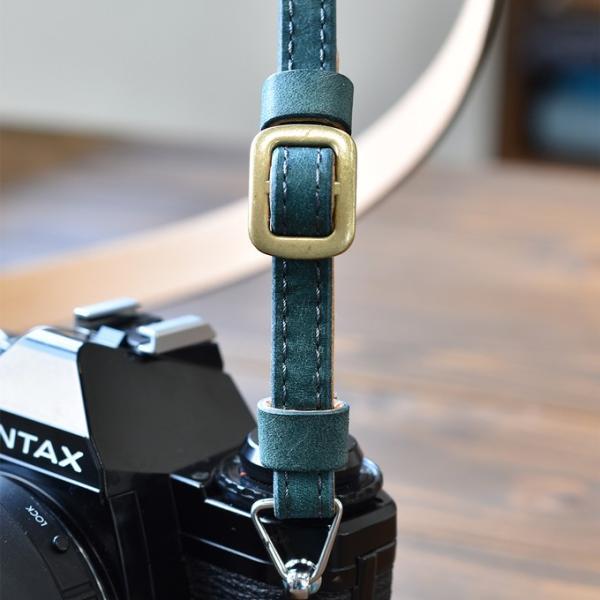 カメラストラップ ストラップ 一眼レフ 本革 レザー Flathority FP-508|tavarat|04