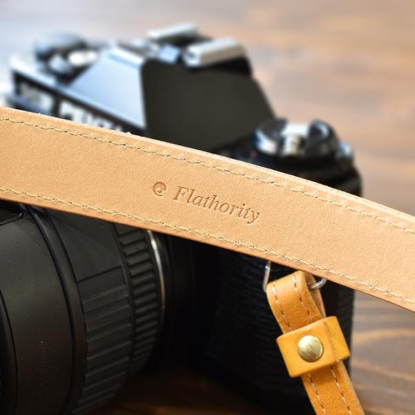 カメラストラップ ストラップ 一眼レフ 本革 レザー Flathority FP-508|tavarat|05