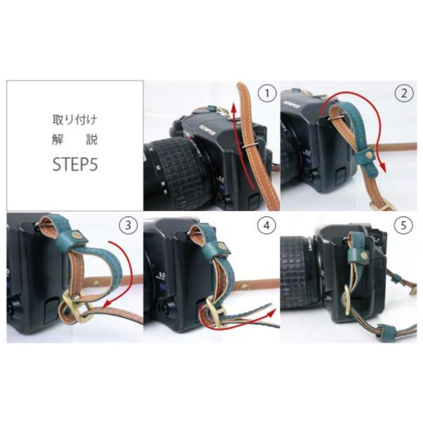 カメラストラップ ストラップ 一眼レフ 本革 レザー Flathority FP-508|tavarat|06