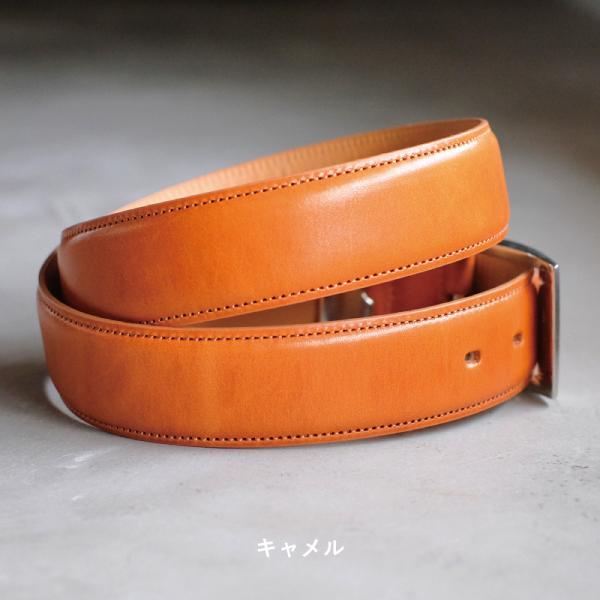 ベルト メンズ 本革 日本製 ビジネス 紳士ベルト フォーマル 姫路レザー サドルレザー サイズ調節可 名入れ 刻印 TAVARAT Tps-001 ラッピング無料 父の日|tavarat|11