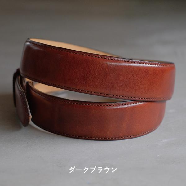 ベルト メンズ 本革 日本製 ビジネス 紳士ベルト フォーマル 姫路レザー サドルレザー サイズ調節可 名入れ 刻印 TAVARAT Tps-001 ラッピング無料 父の日|tavarat|14