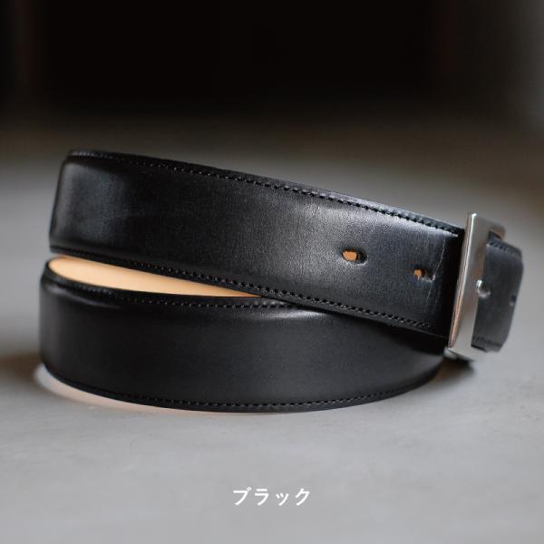 ベルト メンズ 本革 日本製 ビジネス 紳士ベルト フォーマル 姫路レザー サドルレザー サイズ調節可 名入れ 刻印 TAVARAT Tps-001 ラッピング無料 父の日|tavarat|10