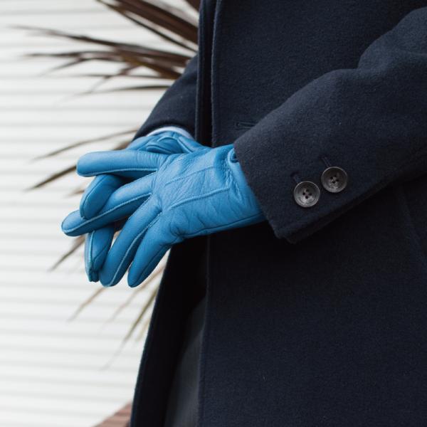 手袋 メンズ 日本製 鹿革 ディアスキン 防水 撥水 透湿 TAVARAT Tps-027  ラッピング無料|tavarat|03
