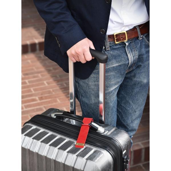ネームタグ ラゲージタグ ラゲッジタグ 日本製 本革 姫路レザー トラベル 旅行 全5色 TAVARAT 名入れ 刻印 Tps-038 (ゆうパケット 送料無料) ラッピング無料|tavarat|04