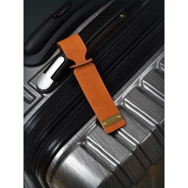 ネームタグ ラゲージタグ ラゲッジタグ 日本製 本革 姫路レザー トラベル 旅行 全5色 TAVARAT 名入れ 刻印 Tps-038 (ゆうパケット 送料無料) ラッピング無料|tavarat|07