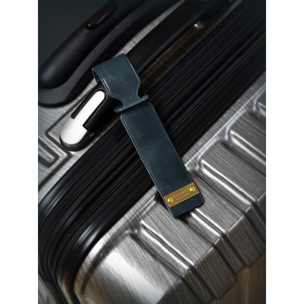ネームタグ ラゲージタグ ラゲッジタグ 日本製 本革 姫路レザー トラベル 旅行 全5色 TAVARAT 名入れ 刻印 Tps-038 (ゆうパケット 送料無料) ラッピング無料|tavarat|09