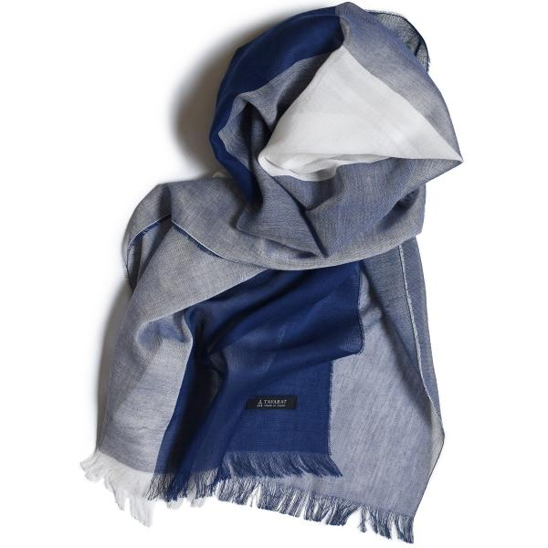 ストール メンズ 日本製 抗菌防臭 綿100% 丹後織物 全2色 TAVARAT Tps-044|tavarat|02