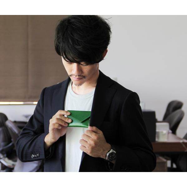 名刺入れ メンズ 本革 真鍮 コンパクト 日本製 TAVARAT Tps-048  ラッピング無料 |tavarat|05