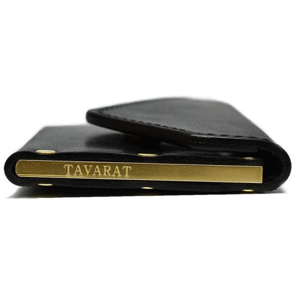 名刺入れ メンズ 本革 真鍮 コンパクト 日本製 TAVARAT Tps-048  ラッピング無料 父の日|tavarat|10