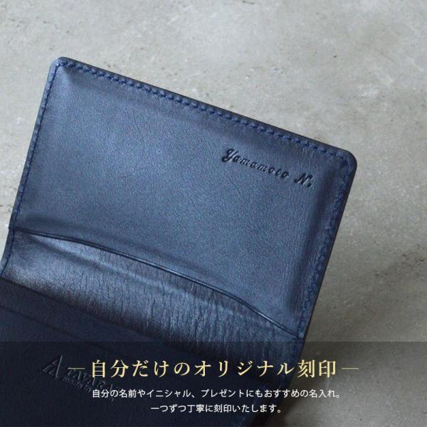 名刺入れ メンズ レザー カードケース 日本製 ボックスカーフ TAVARAT Tps-073  ラッピング無料 父の日 tavarat 16