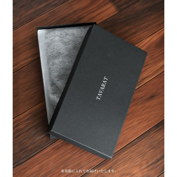 長財布 メンズ 日本製 藍染 黒桟革 極  ネイビー TAVARAT Tps-082 ラッピング無料 父の日|tavarat|11