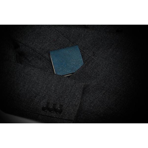 コインケース 小銭入れ 革 メンズ レザー 本革 日本製 黒桟革 TAVARAT Tps-085  ラッピング無料|tavarat|12