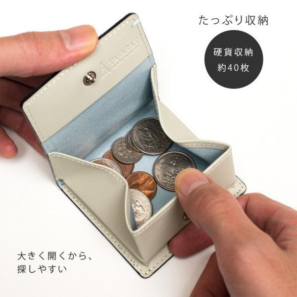 コインケース 小銭入れ 革 メンズ レザー 本革 日本製 黒桟革 TAVARAT Tps-085  ラッピング無料|tavarat|06