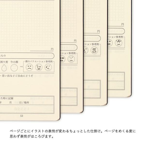 なくしもの日記 日記帳 ユニーク 手帳 おしゃれ 日本製 メンズ ステーショナリー TAVARAT Tps-103 ラッピング無料 tavarat 04