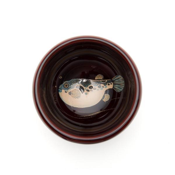 輪島塗 ぐい呑 魚の図  還暦祝い 定年祝い プレゼント 名入れ |tayasikkitenn|03