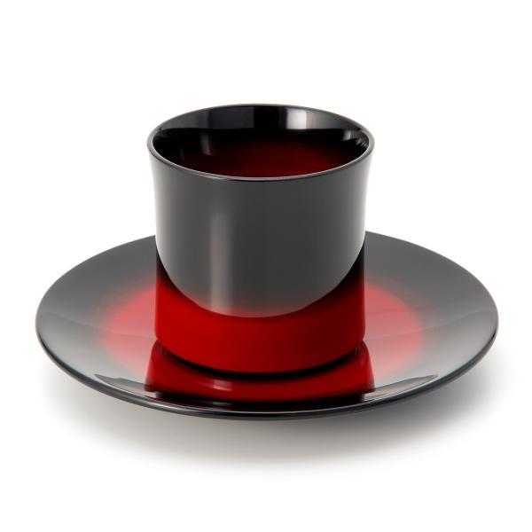 輪島塗コーヒーカップ ぼかし|tayasikkitenn