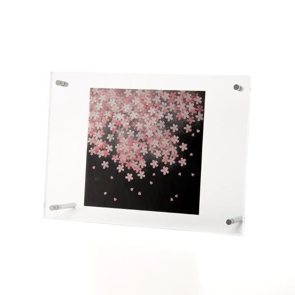 輪島塗 アクリルパネル 桜|tayasikkitenn