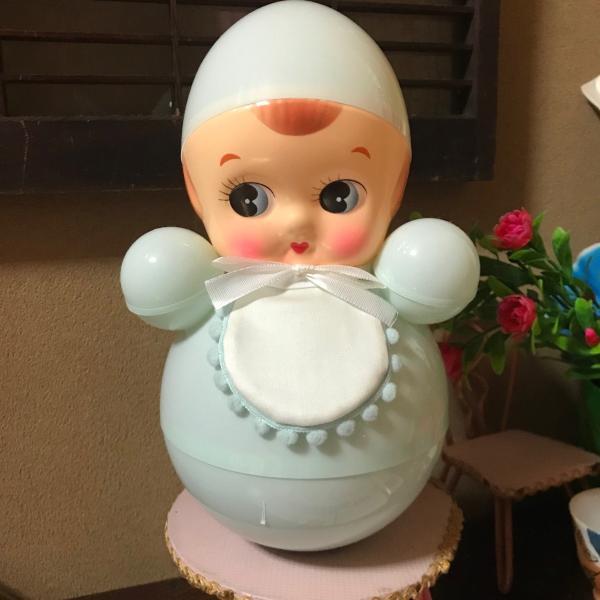 おきあがりこぼし 日本製 トンガリ頭の起き上がりこぼし 昭和レトロ 可愛い こだわり製造|tayasu|09