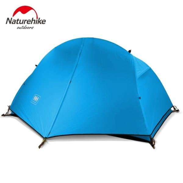 テント Naturehike サイクリングバックパック超軽量 20D/210 T 1 人 NH18A095-D Orange 20D Fabric|tbirds|04