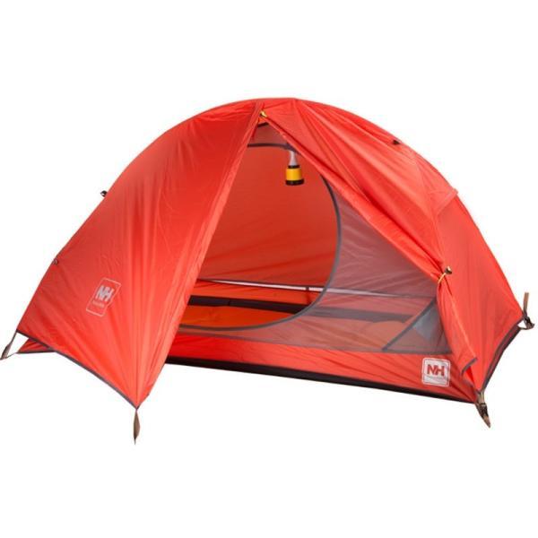 テント Naturehike サイクリングバックパック超軽量 20D/210 T 1 人 NH18A095-D Orange 20D Fabric|tbirds|05