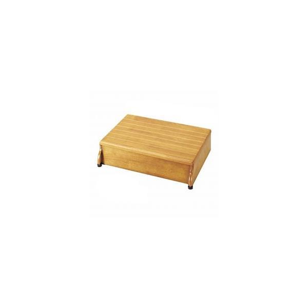 安寿木製玄関台1段タイプ(45W-30)( 介護   踏み台 ふみ台 玄関 立ち上がり ) 高齢者 老人 お年寄り 便利グッズ 敬老の日 プレゼント