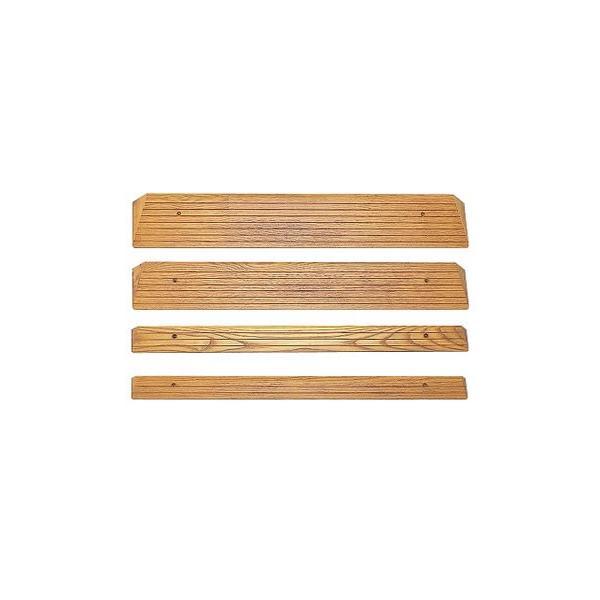 木製ミニスロープ(長80 奥12.5 高4cm) ( 車椅子  車イス 車いす 段差解消  ) 高齢者 老人 お年寄り 便利グッズ