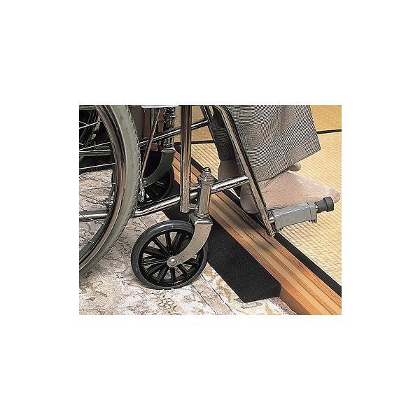 Lスロープ TL-010 (幅9×長さ80×高さ1cm)×2個 ( 車椅子  車イス 車いす 段差解消  スロープ) 高齢者 老人 お年寄り 便利グッズ