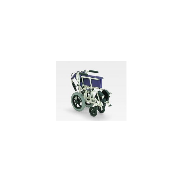 車椅子 軽量 折りたたみ コンパクト (車いす、車イス) 携帯用 旅ぐるまKA6カワムラサイクル|tc-mart|03