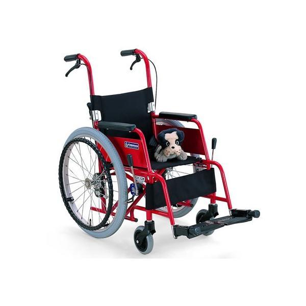 アルミ製子供用車椅子 KAC-NB32(30 28)(カワムラサイクル) ) 高齢者 老人 お年寄り 便利グッズ