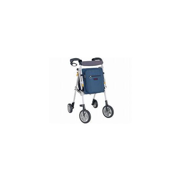 シルバーカー 歩行器 ヘルシーワン T-R75 紺  介護 高齢者 老人 お年寄り 大人用