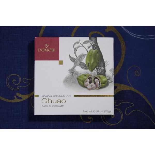 六本木ティープリーズ・ドモーリ:チュアオ・ヴェネズエラ産クリオーロ種(70%カカオ)25g・カカオ品種別チョコレート|tea-please1