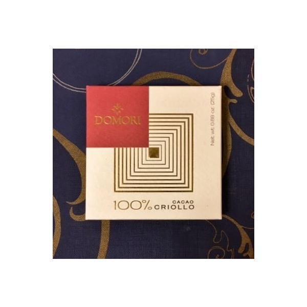 六本木ティープリーズ・ドモーリ:無糖チョコレート:イル100(クリオーロ)25g|tea-please1