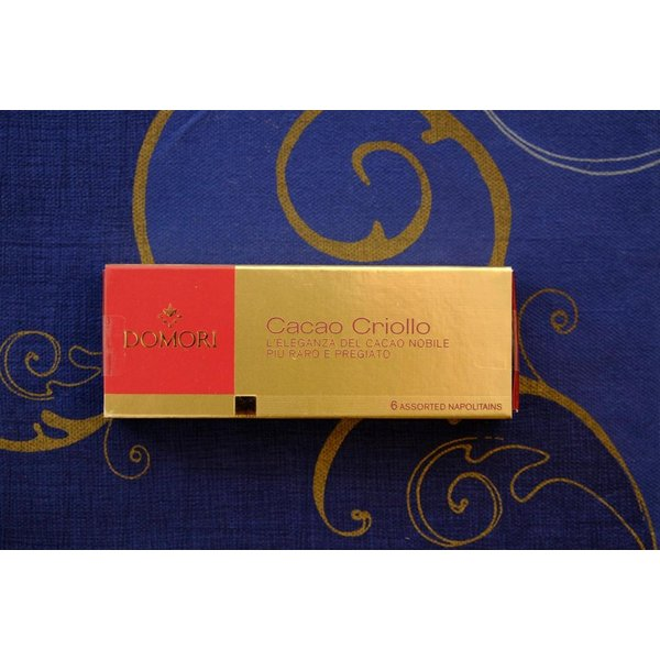 六本木ティープリーズ・ドモーリ:品種別・クリオーロ品種6種チョコレート(4.7g×6)|tea-please1