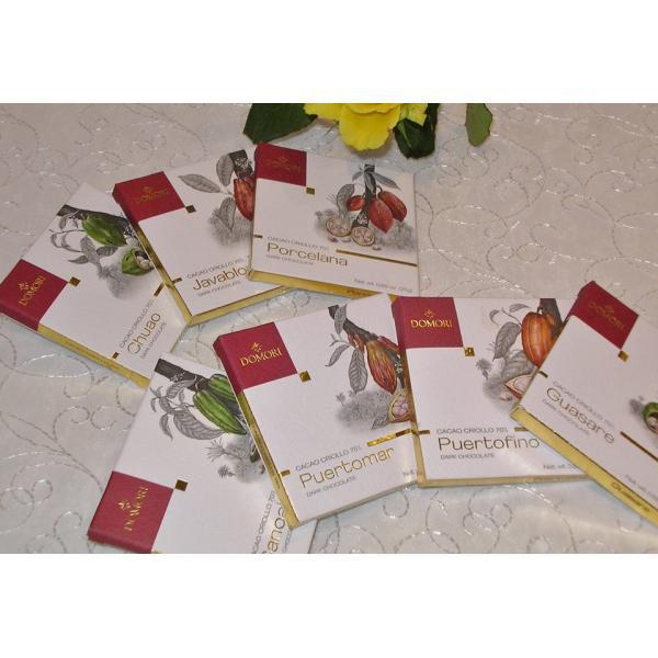 六本木ティープリーズ・ドモーリ:品種別・クリオーロ品種6種チョコレート(4.7g×6)|tea-please1|02