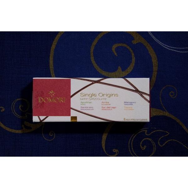 六本木ティープリーズ・ドモーリ:カカオ70%・ナポリタン・品種別、産地別チョコレート(4.7g×6)|tea-please1