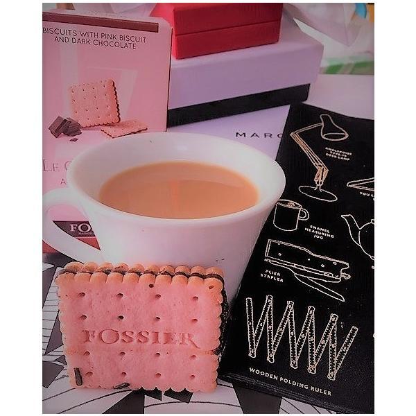フォシエ・ピンクビスケット・ダークチョコレート・ミニ FOSSIER|tea-please1|03