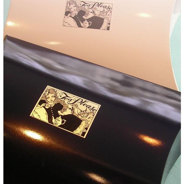 六本木ティープリーズ:宇野亜喜良のアリスとチェシャ猫のプレゼント用ピローパッケージ。当店オリジナルです。|tea-please1