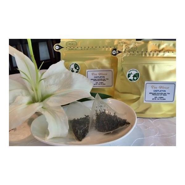 六本木ティープリーズ・アリスの紅茶:ダージリン・キャッスルトン(リーフティ)春茶水出しティーバック|tea-please1