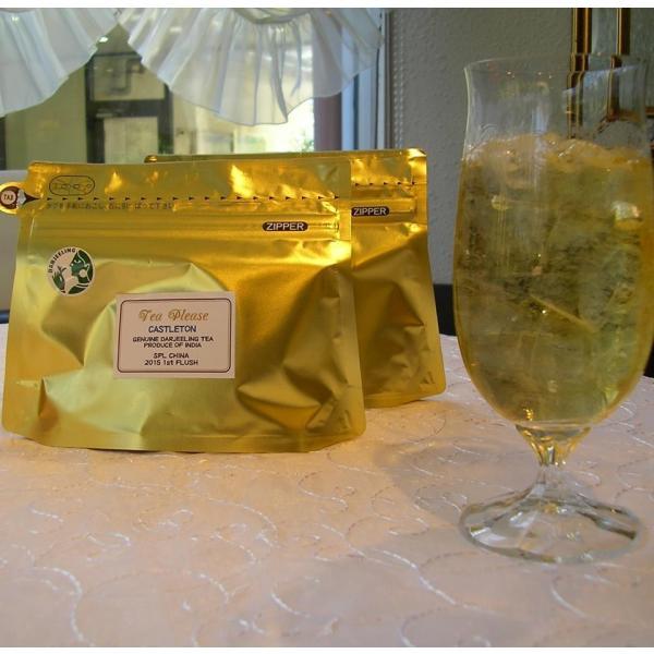 六本木ティープリーズ・アリスの紅茶:ダージリン・キャッスルトン(リーフティ)春茶水出しティーバック|tea-please1|02