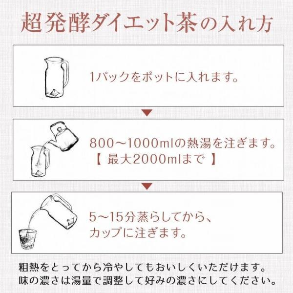 トライアル価格 超発酵ダイエット茶(1袋5個入り)プーアル茶の熟茶と呼ばれる発酵茶|tealab|06